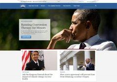 白宫官网升级,雷火app官网下载制作采用HTML5响应式布局