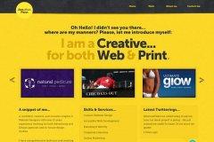 黄色系网页配色分析与案例分享